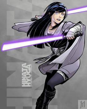 Jedi Hinata Hyuga by G-Matoshi