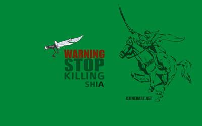 Stop killing shia by webdziner