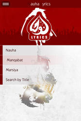 Nauha Lyric App by webdziner
