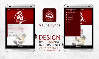 Nauha Lyrics by webdziner