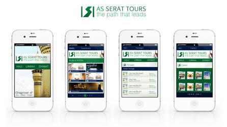 As-serat tours mobile app by webdziner