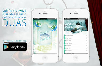 Sahifa e Alawiya,  Mobile and tablet App by webdziner