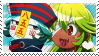 Master and Student! Stamp by Little-Moyashi