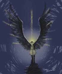 Angel of the Lord by PetiteAllemande