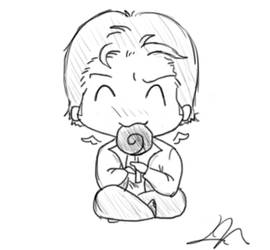 Gabriel and Lollipop by musicalirony
