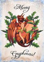 Merry Gryphmas by Merystic