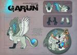 Garun: GAU Mascot by Merystic