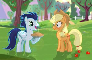 Apple Pie for Applejack! by ShutterflyEQD