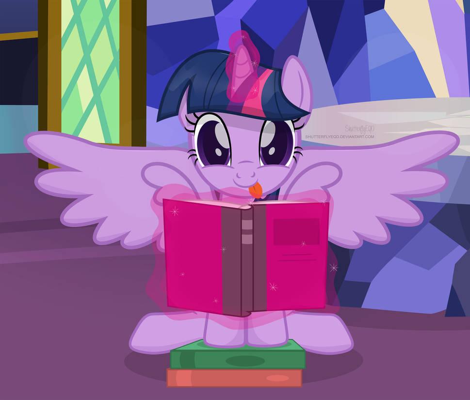 Silly Book Pone by ShutterflyEQD