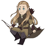 Cutesie Legolas by StormyandRescuer