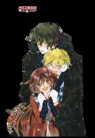 Oz, Alice y Gilbert-Render by Michi20