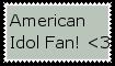 American Idol fan stamp for GO by jadefyres-freedom