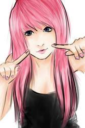 ok peoples, i finally drew something i dont hate. by cutepsychoYuki