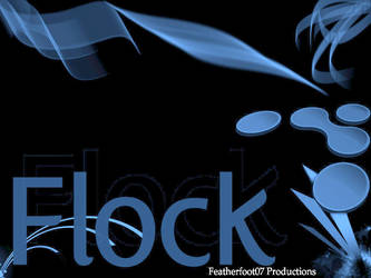 Flock Background by featherfoot07