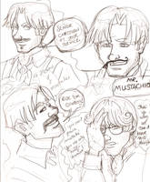 Mr. Mustachio: Christian Sketches by novemberkris