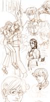 Infinite Spiral James Hartwell Sketchdump by novemberkris