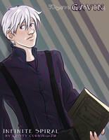 Gavin: The White Haired Man, Infinite Spiral by novemberkris