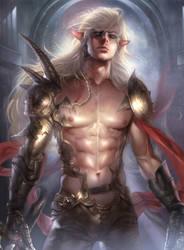 Elf Warrior by Zeilyan