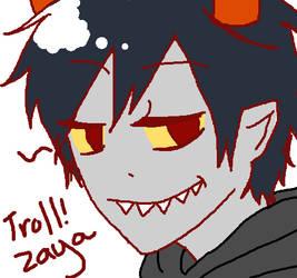 Troll!zaya by artist-san