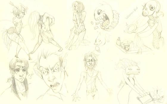 Sketchbook things by Leerer-Raum