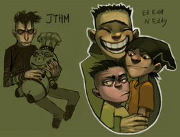 JTHM and the ed(d)s by Leerer-Raum