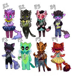 Adopt Auction! (-closed-) by Leerer-Raum