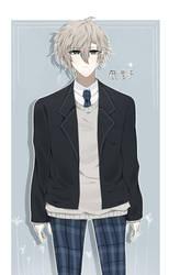 [OC] Kano in Uniform by RAINMonogatari