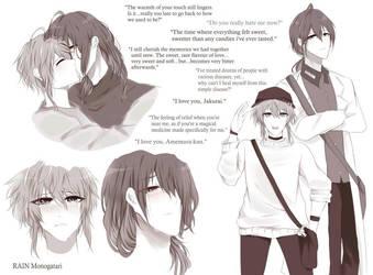 Useless and Shameful Sketch Page by RAINMonogatari