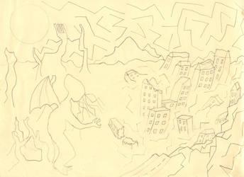 Meidner Master Study sketch by KyynNightbow