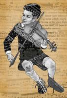 Little Violinist by daretobeboring