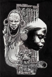 African by 6nailbomb9