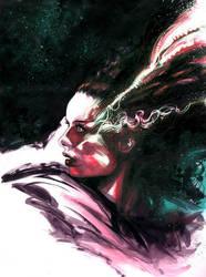 Bride of Frankenstein by 6nailbomb9