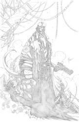 Hellboy by 6nailbomb9
