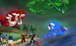 BrainScratchComms: Pokemon Emerald Thumbnail by SmashToons