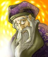 Dumbledore by tina-lynn