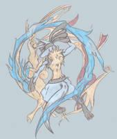 Legendary Warrior Lucario by Beastrune