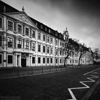 Landtag Magdeburg by MatthiasHaltenhof