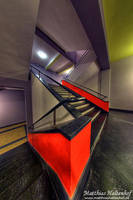 Eschers Red Dream by MatthiasHaltenhof