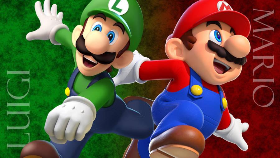 The Mario Brothers Mario Luigi Wallpaper By Katacaz On Deviantart