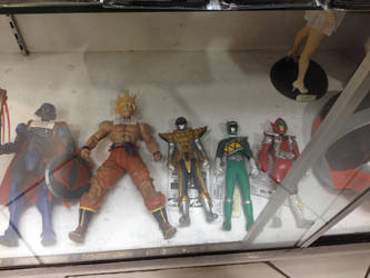 Bottom Row of Toys in the Philippines by SuperHeroTimeFan