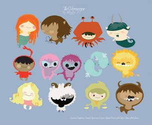 Cute horoscope by mjdaluz