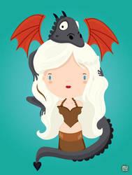 Daenerys by mjdaluz