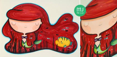 Little mermaid by mjdaluz