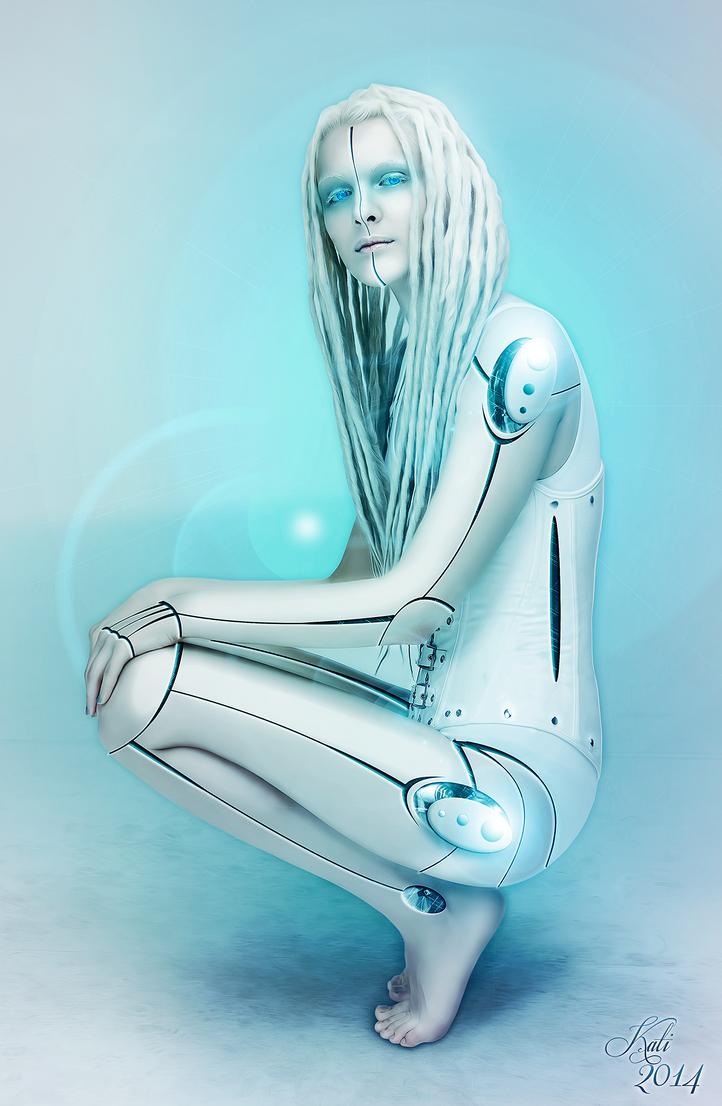 Cyborg Girl by MademoiselleKati