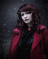 The dark side of Christmas by MademoiselleKati
