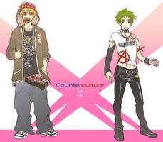 Hetalia - Counterculture by kanae