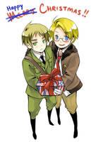 Hetalia - Happy Holidays 2008 by kanae