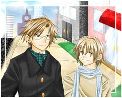 Prince of Tennis - TezuFuji by kanae
