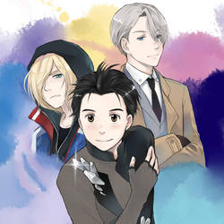 Yuri on Ice - Color by kanae