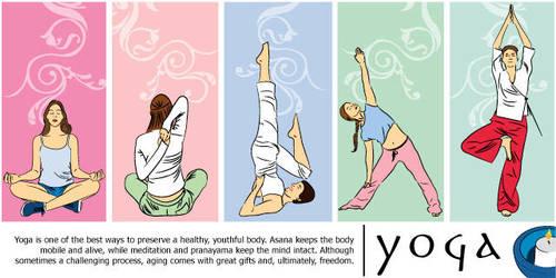 yoga by eyLLaz